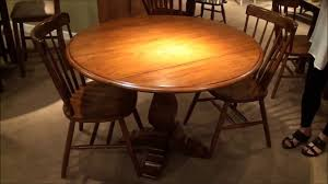 creations ii round drop leaf pedestal dining table home gallery s you