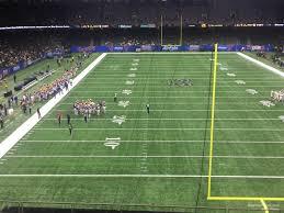 Superdome Section 325 New Orleans Saints Rateyourseats Com