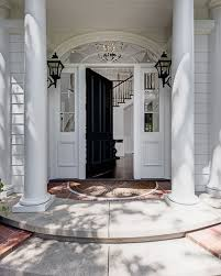 white front door inside. Vince Vaughn Colonial Mansion In CA For Sale Has This Spectacular Entrance. Inside The Home White Front Door N