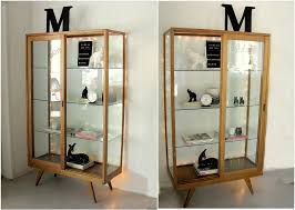 glass door display cabinet curio home ideas collection wonderful within cabinets with doors remodel 15