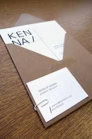 Visual Identity - note: make envelopes for resumes