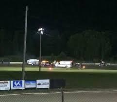 tony stewart s race car kills driver walking toward him on dirt track at canandaigua video syracuse
