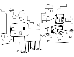 Small Picture 18 best Minecraft Printable Coloring Pages images on Pinterest