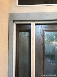 entry door unit on a stucco home