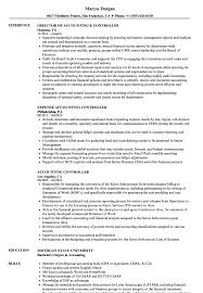 Controller Resume Examples Examples Of Resumes