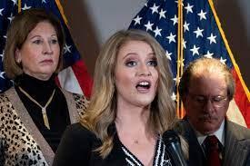 Trump legal adviser Jenna Ellis ...