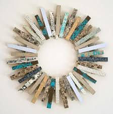 Washi Tape Crafts - Kirsty's Fun Clothespin Wreath - DIY Projects Made With Washi  Tape -