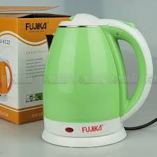 Ấm đun siêu tốc 2 lớp bọc nhựa chống bỏng Fujika FJ-ST22 dung tích 1.8L,  công suất 1500W, màu ngẫu nhiên, bảo hành 12 tháng - Fujika FJ-ST22