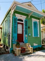 Green Shotgun House In New Orleans New Orleans Pinterest - Exterior doors new orleans