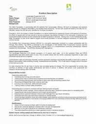 Landscaping Resume Enchanting Architecture Resume Template Free Inspirational Landscaping