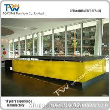 yellow office worktop marble office furniture corian. home u003eu003e tabletopsreception 2016 new design chinese factory corian acrylic solid surface artificial marble stone front reception desk office furniture yellow worktop l