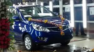 tata new car launch zestTata Zest Starts Rolling Out From Factory Ahead Of Launch