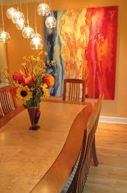 Painting Dining Room Custom Beautiful Painting And Complements The Dining Room Décor Wonderfully