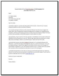 sample cover letter for unsolicited resume cover letter resume