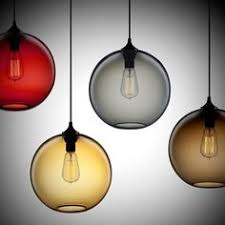 ... Modern Fixture Colored Glass Pendant Lights Unique Decoration Suitable  For Living Room Circular Shape Variety Of