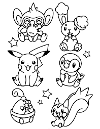 Piplup Coloring Page Coloring Pages For Kids And For Adults