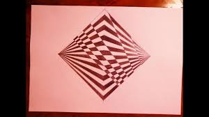 Trippy Pattern Custom How To Draw Geometric Square With Trippy Pattern Psychedelic