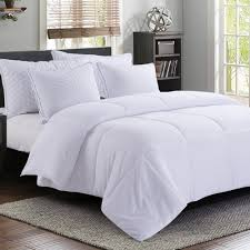 manzoo queen comforter duvet insert white quilted comforter with corner tabs hypoallergenic plush siliconized