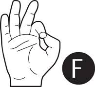 sign language letter f free american sign language clipart clip art pictures graphics