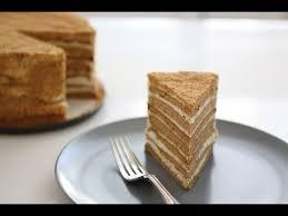 Russian Honey Cake recipe Medovik
