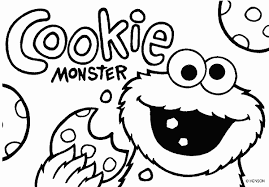 Small Picture Cookie Monster Coloring Page GetColoringPagescom