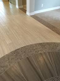 Floor Decor In Norco Ca Perfect Glass Stone Mosaic Transition From The Tile To The Wood