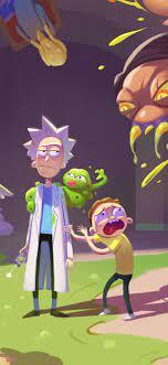 1242x2688 Rick And Morty Season 4 ...