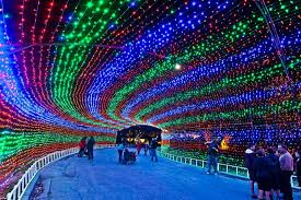 Austin Christmas Light Festival Pin By Norma Smith On Around The World Light Trails Trail