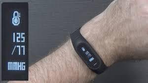 Track My Blood Pressure Blood Pressure In A Fitness Tracker Bozlun B15p Youtube