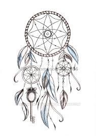 Dream Catcher Tattoo Sketch Blue dreamcatcher tattoo design by RozThompsonArt on DeviantArt 14