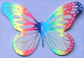 Foiled Die Cut Shape Butterfly
