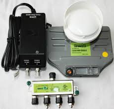 how to hook up directv swm brand new directv swm3 swm 3 satellite lnb w power inserter 4 way