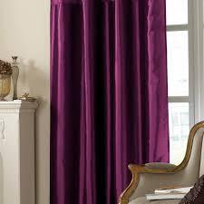 Purple Curtains For Living Room Plush Dark Purple Curtains Designs Decofurnish