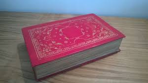 book binding service in leather canvas fabric embossed
