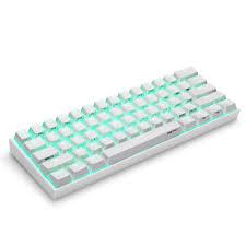 ANNE Pro2 Mini Di Động Bluetooth 60% Không Dây Bàn Phím Cơ Đỏ Xanh Dương  Brown Switch Bàn Phím Có Thể Tháo Rời Dây Nóng Keyboards