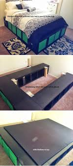 tall platform bed bedroom furniture. 17 easy to build diy platform beds perfect for any home tall bed bedroom furniture i