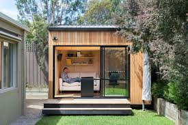 kayak shed for a contemporary shed with a home office and blackburn office studio by backyard backyard office shed