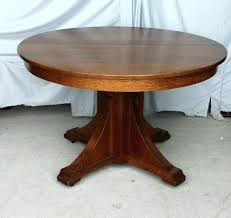 round mission style dining table craftsman style dining table dining room set arts and crafts round table craftsman style bench craftsman style dining table