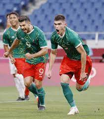 Mexico in men's football bronze medal match