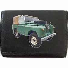 landrover series 2 image on klek brand men leather wallet keyring key rack car moto accessory