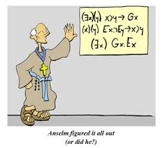 the ontological argument a most merry and illustrated  anselm the ontological argument