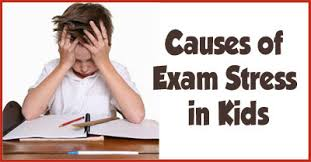 causes of exam stress in children