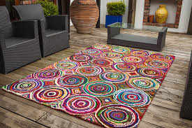 coloured rugs rugats multicoloured cotton rag rug skandihome