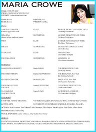 28 Child Acting Resumes Resume Layout Com