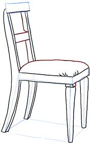 armchair drawing step by step.  Step How To Draw A Chair In The Correct Perspective With Easy To Armchair Drawing Step By