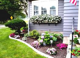 Front Door Garden Design Cool Flower Bed Ideas For Front Of House Back Front Yard Landscaping