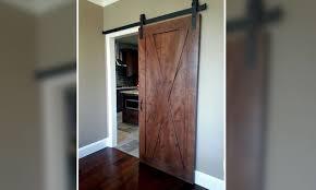 full x brace barn door