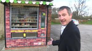 Drive Thru Vending Machine New Large Vending Machine For Derbyshire Village With No Shop BBC News
