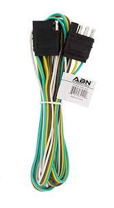 amazon com abn trailer wire extension 8 foot 4 way 4 pin plug abn trailer wire extension 8 foot 4 way 4 pin plug