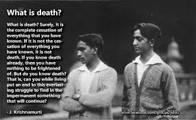 Krishnamurti Quotes Stunning J Krishnamurti Quotes On Death On Make A GIF